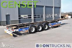 Groenewegen container semi-trailer + GENSET (2007) | 40-45ft CHASSIS * APK 09-2022
