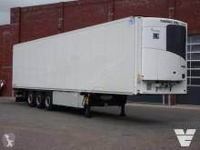 Semi reboque frigorífico mono temperatura Schmitz Cargobull Frigo Trialer Vleeshang / Hooks / Rohrbahnen, ThermoKing SLX300e