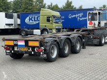 Semitrailer Pacton T3-010 MULTI CONTAINER CHASSIS HC 3x EXT / SAF-DRUM containertransport begagnad