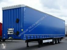 Krone CURTAINSIDER/MEGA/LOW DECK/LIFTED ROOF/BDE/ semi-trailer used tarp