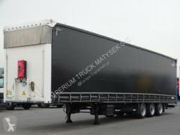 Semirimorchio centinato alla francese Schmitz Cargobull CURTAINSIDER / MEGA / LIFTED ROOF / SAF