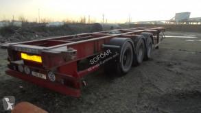 Semitrailer containertransport Fruehauf