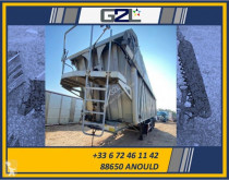 Stas tipper semi-trailer K24 / 3 ESSIEUX / *ACCIDENTE*DAMAGED*UNFALL*