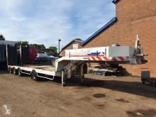 Semitrailer Nicolas B4307D maskinbärare begagnad