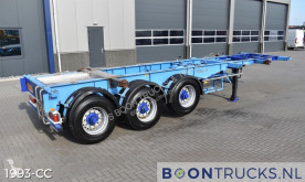 Semi remorque Renders ROC 16.27 CC 30N | 20-30ft TANK CHASSIS * LIFT AXLE porte containers occasion