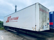 Fruehauf plywood box semi-trailer Suspension à lames