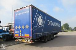 Félpótkocsi Krone SD használt függönyponyvaroló