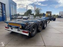 D-TEC Flexitrailer / 2x Extendable / BPW + Drum + 1x Lift semi-trailer used container