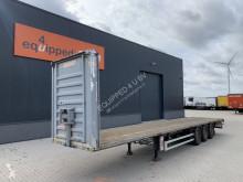 Semitrailer Fruehauf GIGANT-axles, discbrakes, hardwooden floor platta begagnad