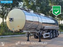 Feldbinder food tanker semi-trailer TSA 33.3-3 Lebensmittel Isoliert Heizung 1 comp. 32.500Ltr