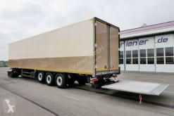 Schmitz Cargobull box semi-trailer SKO 3-achs SKO 24/ FP45 / BLUMEN / DS / LBW 2000 kg