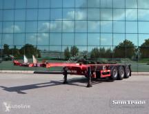 Semi remorque Broshuis 3 UCC-39/45 EU MULTI HIGH CUBE TOP CONDITION HOLLAND châssis occasion