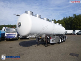 Semi remorque Magyar Food tank inox 28.5 m3 / 4 comp + pump citerne alimentaire occasion