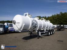 Semi remorque citerne produits chimiques Maisonneuve Chemical ACID tank alu 24.3 m3 / 1 comp