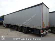 Semi reboque Schmitz Cargobull 4 x Tautliner Scheibenbremse Liftachse caixa aberta com lona usado