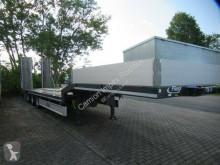 Semi reboque porta máquinas Fliegl SDS 470 Tieflader mit Seilwinde, Rampen