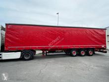 Semi remorque Schmitz Cargobull Tautliner 3 essieux avec hayon rideaux coulissants (plsc) occasion