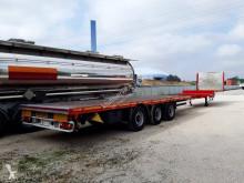 Sættevogn Hangler 3 STEL 24-4 flatbed jerntransport brugt