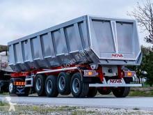 Nova construction dump semi-trailer ROCK TYPE TIPPER TRAILER 4 AXLE