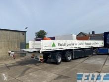 Gestuurde trailer stuuras/liftas - 2,00m uitschuifbare kont trailer used flatbed