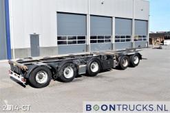 Yarı römork konteyner taşıyıcı Broshuis 2 CONNECT-5AKCC | 2x20-40-45ft HC * 3x LIFT * 3x STEERING