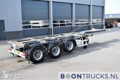 Félpótkocsi D-TEC FT-43-03V | 2x20-30-40-45ft HC * 3 x EXTENDABLE * APK 07-2022 használt konténerszállító