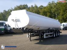 Merceron Fuel tank alu 37.9 m3 / 7 comp + dual counter semi-trailer used tanker