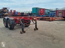 Sættevogn Burg BPO 12-18 C Container chassis 20ft / Steel suspension containervogn brugt
