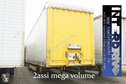 Semi remorque savoyarde Krone Mega Liner semirimorchio centinato mega volume 2 assi