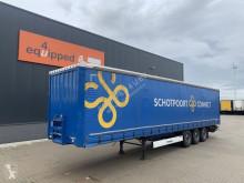 Semi remorque rideaux coulissants (plsc) Krone SAF INTRADISC, Liftaxle, 2.80m int. height, NL-trailer