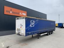 Semitrailer skjutbara ridåer (flexibla skjutbara sidoväggar) Krone 2.80m inw. hoogte, BPW+trommelremmen, NL-trailer, APK: 07/2022, 2x beschikbaar