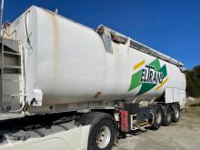 Semiremorca Ecovrac S3 cisternă transport alimente second-hand