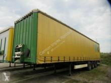Yarı römork Krone Gardine, untergef. Ladebordwand, 2 to sürgülü tenteler (plsc) ikinci el araç