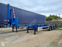 Semi remorque Asca 40 bennant porte containers occasion