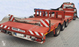 Tieflader semi-trailer used chassis