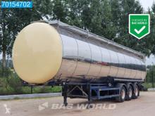 Návěs Feldbinder TSA 54.3 Isoliert 54m3 Chemie 3 Comp. NL-Trailer cisterna chemikálie použitý