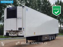 Semi remorque frigo mono température Krone Carrier Vector 1550 Doppelstock Liftachse Palettenkasten ATP FRC