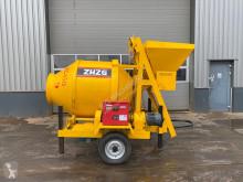 JZC 450 concrete mixer semi-trailer used concrete mixer concrete