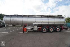 Sættevogn Burg HOBUR BPO12-27Z 35.745LITER ISOLATED TANKTRAILER citerne kemiske produkter brugt