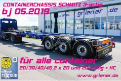 Semi remorque châssis Schmitz Cargobull SCF 24 G 45 20/30/40/45/2x 20 fuss LIFT 55er