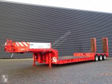 Langendorf SAT30/33 / TIEFBETT / RAMPEN / HEBEN BETT semi-trailer used heavy equipment transport