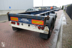 Renders container semi-trailer ROC 12.18 / 20 FT Container Chassis / BPW + Drum