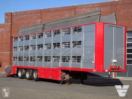 Semi remorque bétaillère bovins Berdex Renders 3 deck - Lift axle/steering axle - Ventilation