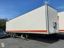 Fruehauf plywood box semi-trailer FOURGON 3 ESSIEUX