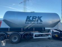 Návěs Feldbinder Siloauflieger Zement/Beton beschädigt cisterna práškový použitý