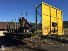 Yarı römork Lecitrailer tomruk kamyonu ikinci el araç