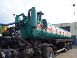 Tanker semi-trailer 19.332 TOILET/VACUUM TRAILER 25.000L FULL STEEL GOOD WORKING
