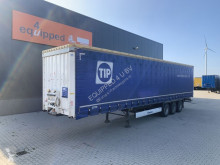 Semi remorque rideaux coulissants (plsc) Krone 2.80m int. height, BPW+drumbrakes, NL-trailer, 2x available