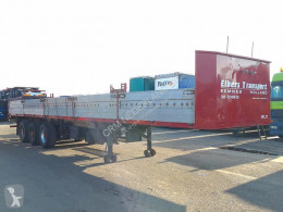 Semi remorque plateau Netam ONCR36-324 Flatbed with side boards