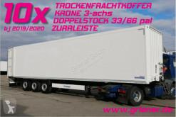Semiremorca Krone SD 27/DOPPELSTOCK / ZURRLEISTE / SAF 10 x !!!!! furgon etajata second-hand